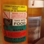 Toxic chemo pills sq sm